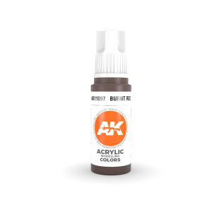 AK Interactive Burnt Red 17ml