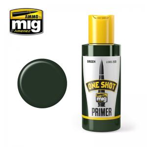 Ammo Mig Jimenez One Shot Primer – Green , 60ml