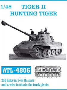Friulmodel Tiger II Hunting Tiger/Jagdtiger - Track Links