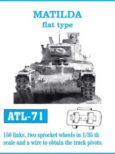 Friulmodel Matilda flat type - Track Links