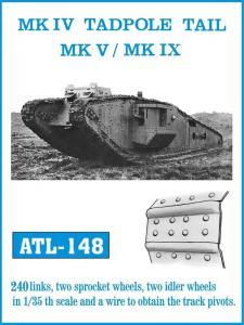 Friulmodel MARK IV TADPOLE TAIL MK V / MK IX - Track Links