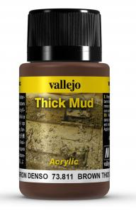 Vallejo Brown Thick Mud 40 ml