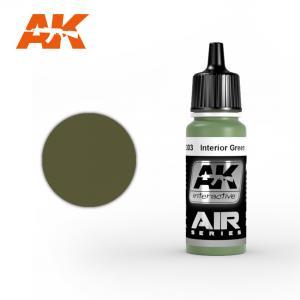 AK Interactive INTERIOR GREEN