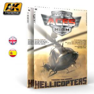 AK Interactive Issue 9 A.H. HELICOPTERS-English