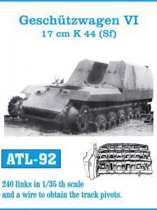 Friulmodel Geschützwagen VI, 17cm K44 (Sf) - Track Links