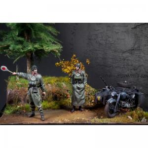 Scale75 BARBAROSSA FELDGENDARMERIE BMW R75