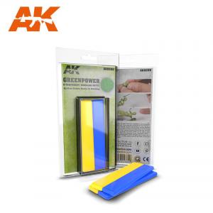 AK Interactive Green Power (Bi-component Modelling Putty 2x10 cm)