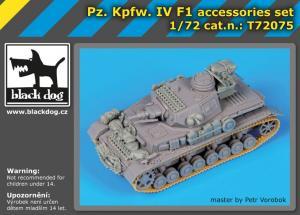 Black Dog Pz. Kpfw IV F1 accessories set