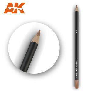 AK Interactive Watercolor Pencil Copper
