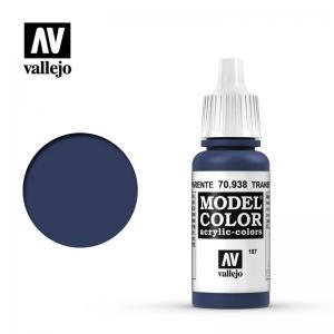 Vallejo Model Color 187 - Blue (Transparent)