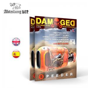 Abteilung 502 DAMAGED, Worn and Weathered Models Magazine - 04 (English)