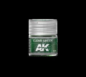 AK Interactive Clear Green 10ml