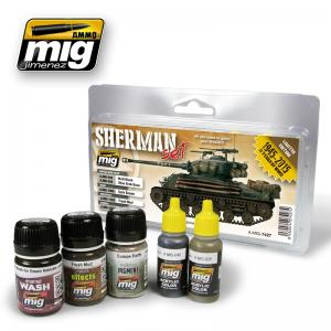 Ammo Mig Jimenez Fury Sherman Set