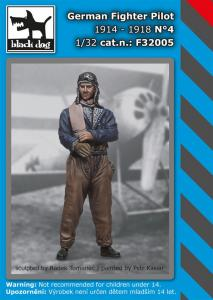 Black Dog German Fighter Pilot 1914-1918 No.4