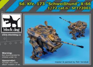Black Dog Sd.Kf3.173 Schweibhund X-66 (sci-fi)