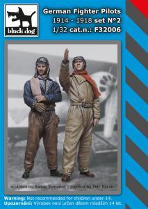 Black Dog German Fighter Pilots set 2 1914-18