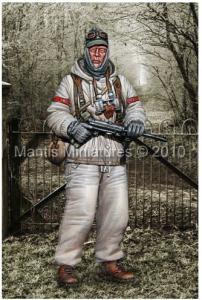Mantis Miniatures German SS Grenadier - Winter, 1944