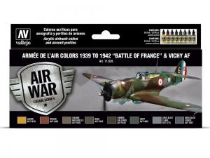 Vallejo ARMÉE DE L'AIR COLORS 1939-1942 BATTLE OF FRANCE