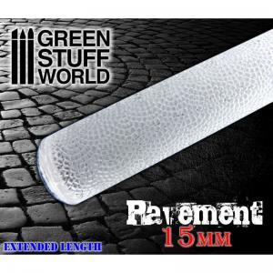 Green Stuff World Rolling Pin Pavement 15mm