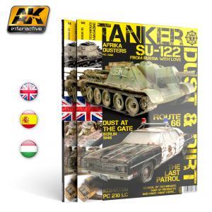 "AK Interactive TANKER 03 ""DUST & RUST"" - English"