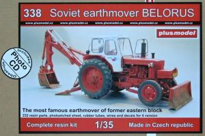 Plus Model Soviet Earthmover BELORUS (Full Resin Kit)
