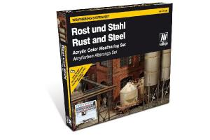 Vallejo Model Color Special Set - Rust and Steel Effects