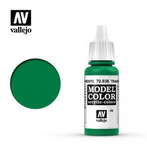 Vallejo Model Color 188 - Green (Transparent)