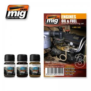 Ammo Mig Jimenez Engines Set