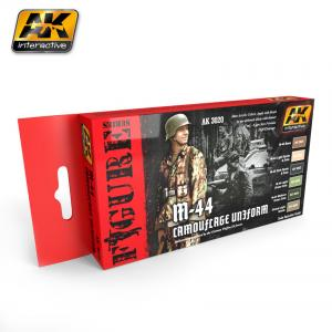 AK Interactive M-44 CAMOUFLAGE UNIFORM COLORS SET
