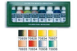 Vallejo Model Color Set - Transparent Color (x8)