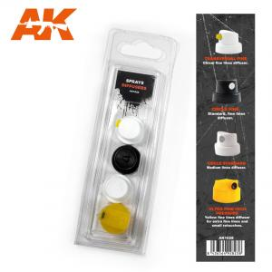 AK Interactive Spray Difussers Set 1