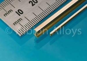 Albion Alloys Brass I Beam 6 x 3 mm 1pc. 305 mm