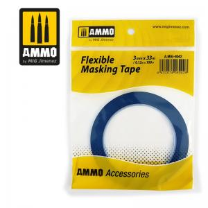 Ammo Mig Jimenez Flexible Masking Tape 3mm (33m)