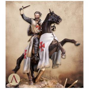 Scale75 KNIGHT TEMPLAR, 13TH CENTURY