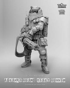 Nuts Planet Advance Guard Heavy Gunner