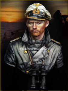 Young Miniatures U-Boat Commander WWII