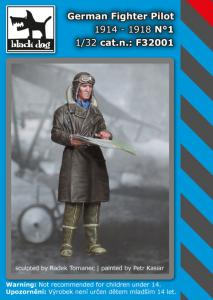 Black Dog German Fighter Pilot 1914-1918 No1