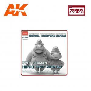 ZLPLA WWII German Hippo Tank Crew Set A