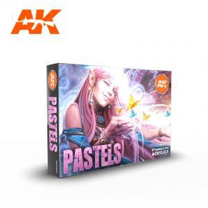 AK Interactive PASTELS COLORS SET