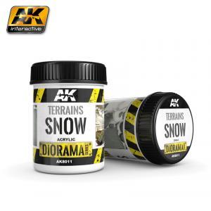 AK Interactive TERRAINS SNOW - 250ml (Acrylic)