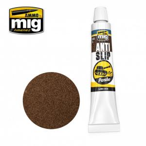 Ammo Mig Jimenez ANTI-SLIP PASTE - BROWN COLOR FOR 1/35