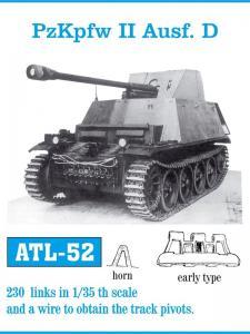 Friulmodel Pz.Kpfw.II Ausf.D Early - Track Links