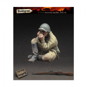 Stalingrad Figures Red Army signaller
