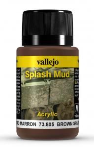 Vallejo Brown Splash Mud 40 ml