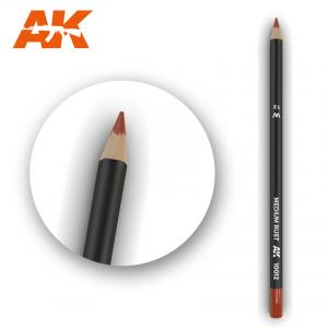 AK Interactive Watercolor Pencil Medium Rust
