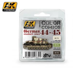 AK Interactive GERMAN STANDARD 44-45 COLOR COMBO