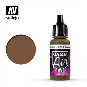 Vallejo Game Air - Beasty Brown
