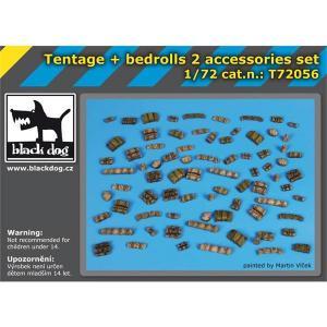 Black Dog Tentage plus bedrols 2 accessories set