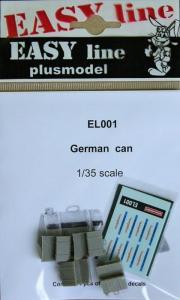 Plus Model German Can (4 pcs)