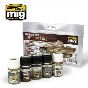Ammo Mig Jimenez German Camo Weathering Set